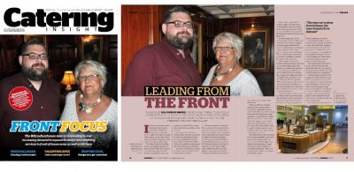 Catering Insight feature